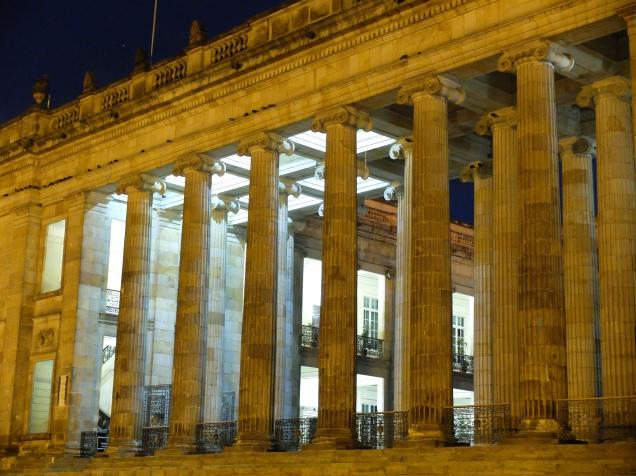 Place d'Armes Bogota (Colombie)