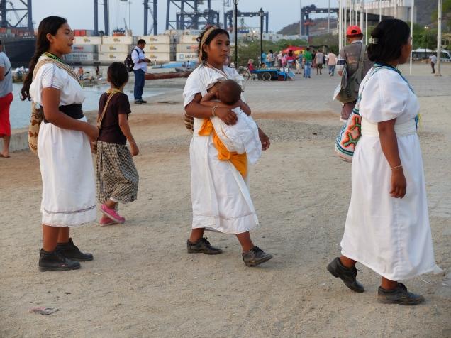 Indiennes Tayrona à Santa Marta (Colombie)